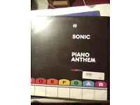 "Sonic Piano Anthem dnb 12"" single"