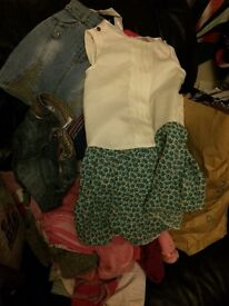 Massive girls clothes bundle 4-5 +5-6 years