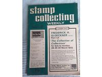 Stamp collection weekly magazines
