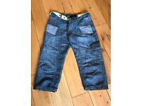 Boys 3/4 length jeans
