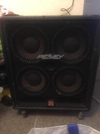 Peavey nitrobass amp head and 410 cab