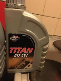 Titan atf cvt 1 litre brand new automatic transmission fluid 5 pound