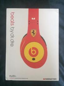 Limited Edition Ferrari Beats by Dr. Dre Headphones