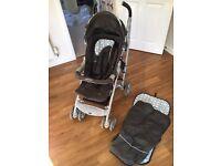 Graco Mosaic travel system - baby pram and car seat - inc car seat base