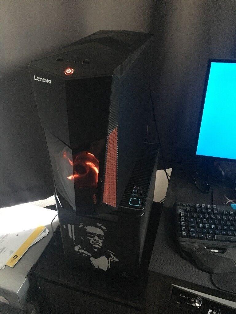 Lenovo Y520 Intel Optane Gaming PC 1 TB HDD 8GB DDR4 LED, Brand NEW RRP 849£