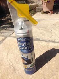 Hammerite spray paint