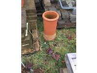 2x Chimney pot