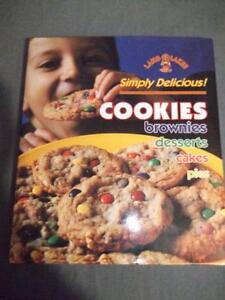 Brand New Land O Lakes Simply Delicious Cookies, Brownies, Desserts, Cakes, Pies Cookbook