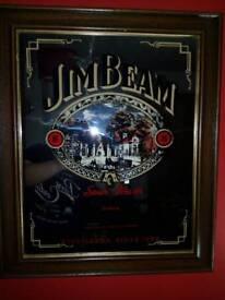 jim beam mirror