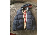 Lee cooper double zip body warmer