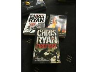 Chris ryan hardback books