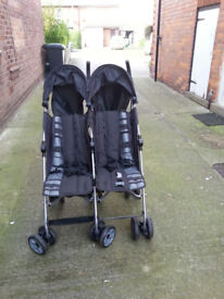 Mamas & Papas Twin Buggy