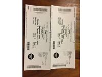2 x SEATED DRAKE TICKETS - MANCHESTER