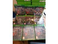 Sealed Xbox one and ps4 games