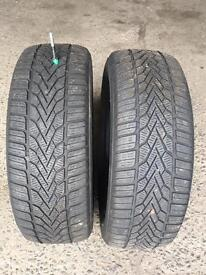 2 x Semperit Winter Tyres