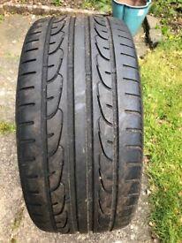 Nexen Tyre 235/40ZR18 95Y - still plenty of thread