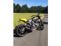 Ducati Scrambler Full Throttle .. only 437miles!!