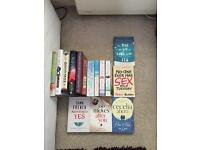 Job lot of 15 books, all bought brand new
