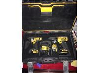 Dewalt drill combo set impact
