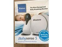 Babysense 5 breathing and movement sensor