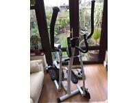 V fit cross trainer and bycicle