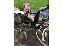 Wee Ride Deluxe child bike seat
