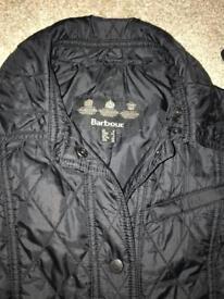 Ladies genuine Barbour jacket size 8
