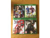 Collection of Xbox One Games