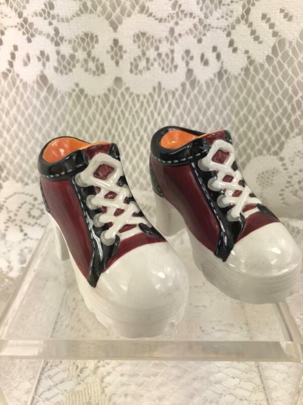 Vintage Salt & Pepper Shakers~High Heel Sneakers~Vandor