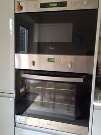 Whirlpool oven and microwave grill