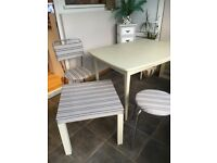DINING TABLE, SOLID WOOD