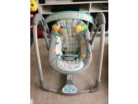 Taggies electric baby swing