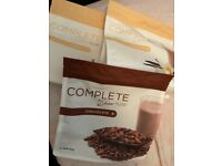 Juice plus complete vanilla and chocolate powder. I have 1 chocolate and 2 vanilla pouches