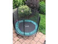 8ft trampoline with enclosure by Plum