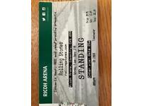 ROLLING STONES TICKET RICOH ARENA 2ND JUNE