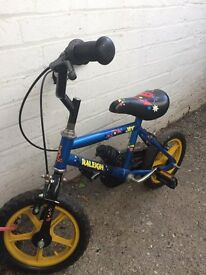 "12"" Raleigh Jet Bike For Kids/Boys - East London / Essex"