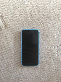 iPhone 5c in blue for sale