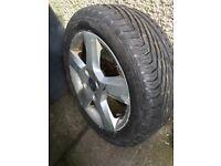 Uniroyal Tyre 195/50 R15H Rainsport3 on Ford 5 spoke alloy