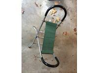 Folding Seat + Walking Aid
