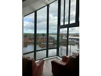 Absolutely beautiful riverside penthouse apartment in Belfast City Centre!!