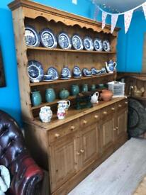 Very large solid pine dresser - can deliver
