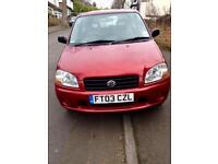 Suzuki Ignis 1.3l Red 3 Door hatchback 2003 £795 ono