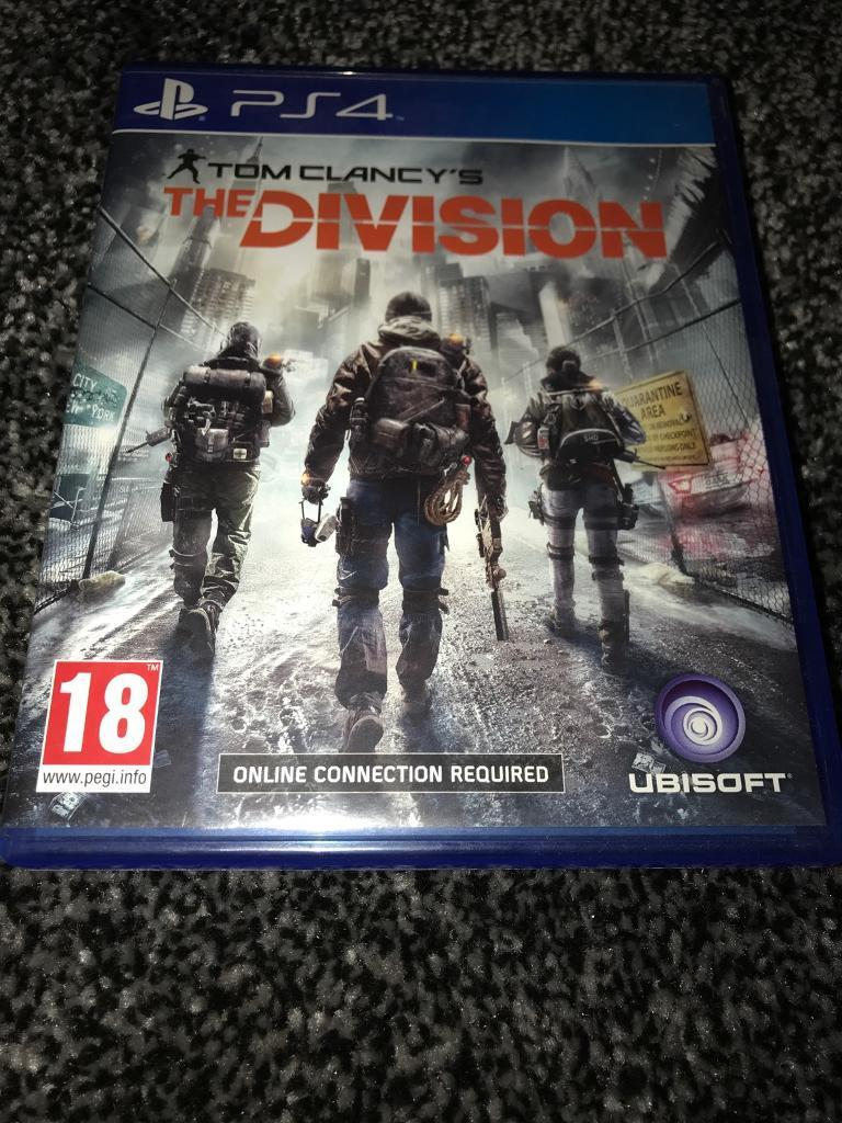 Tom Clancy the division // PS4 game