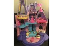 Disney fairy princess castle
