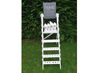Wedding Confetti step ladder for sale.