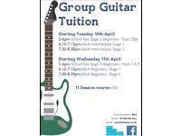 Arts Centre Washington. GROUP Guitar Tuition.