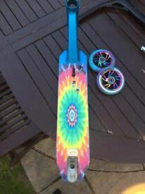 Blue apex deck