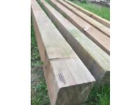 Railway sleeper good quality