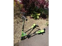 Child's wiggle scooter