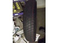 SPACESAVER TYRES UNUSED 15 and 16 inch MG ROVER VW FORD ETC SOME ON RIMS USE WITH 15 16 17 18 INCH